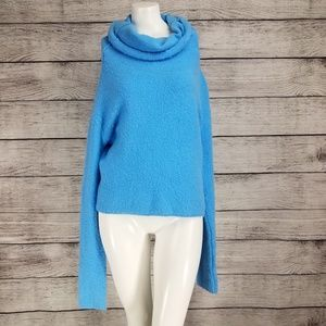 Free People Stormy Cowl Neck Pullover Sweater boho